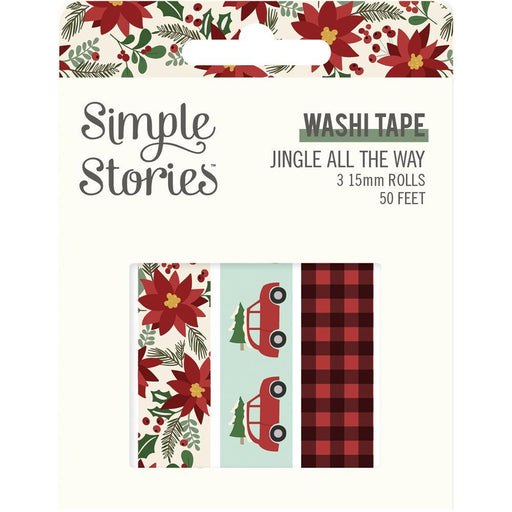 SIMPLE STORIES JINGLE ALL THE WAY WASHI TAPE