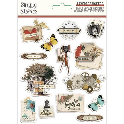 SIMPLE-STORIES-VINTAGE-ANCESTRY-LAYERED-STICKERS