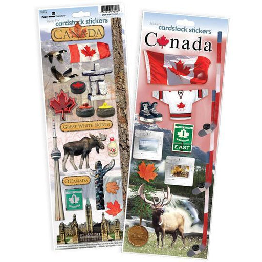 PAPER HOUSE VALUE STICKER  PACK  CANADA