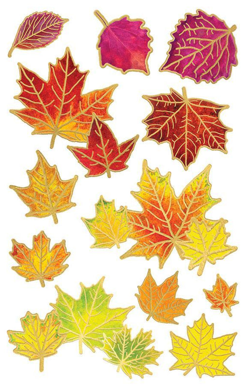 PAPER HOUSE 3D STICKER  FALL LEAVES