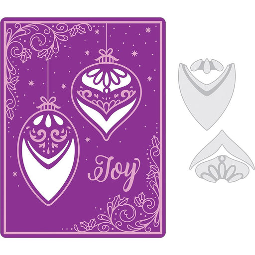 SIZZIX EMBOSSING FOLDER SEASON OF JOY