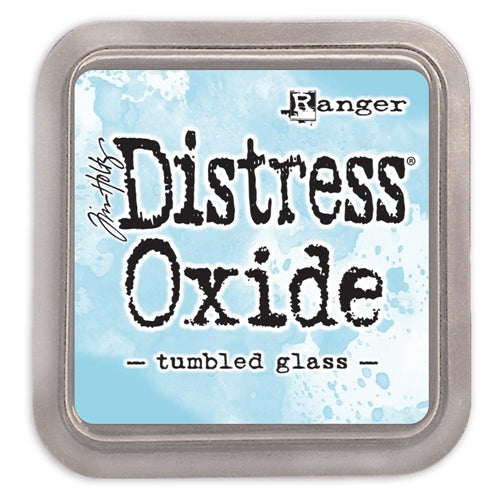 TIM HOLTZ DISTRESS OXIDES  PAD  TUMBLED GLASS