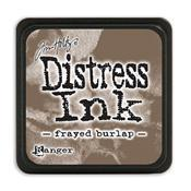 TIM HOLTZ DISTRESS MINI INK PAD FRAYED BURLAP