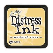 TIM HOLTZ DISTRESS MINI INK PAD SCATTERED STRAW