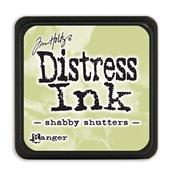 TIM HOLTZ DISTRESS MINI INK PAD  SHABBY SHUTTERS