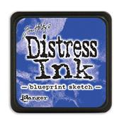 TIM HOLTZ DISTRESS MINI INK PAD BLUEPRINT SKETCH