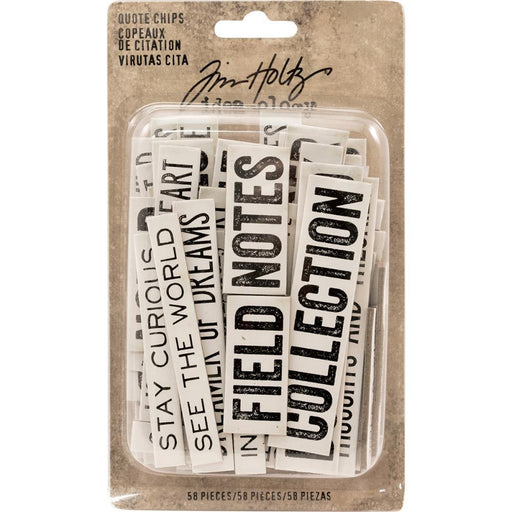 TIM HOLTZ IDEAOLOGY WORD/PHRAS-QUOTE CHIPS IDEA-OLO