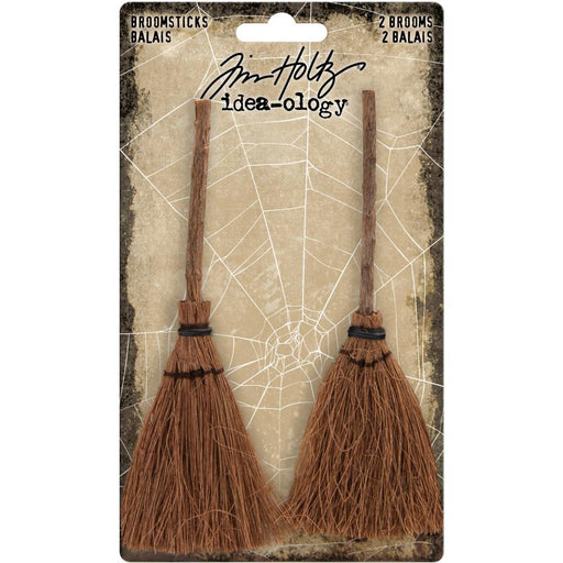 TIM HOLTZ IDEAOLOGY  HALLOWEEN BROOMSTICKS