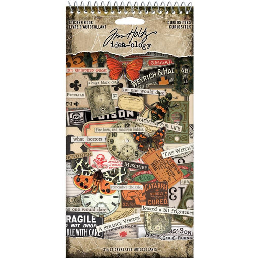 TIM HOLTZ IDEAOLOGY STICKER BOOK CURIOUSITIES