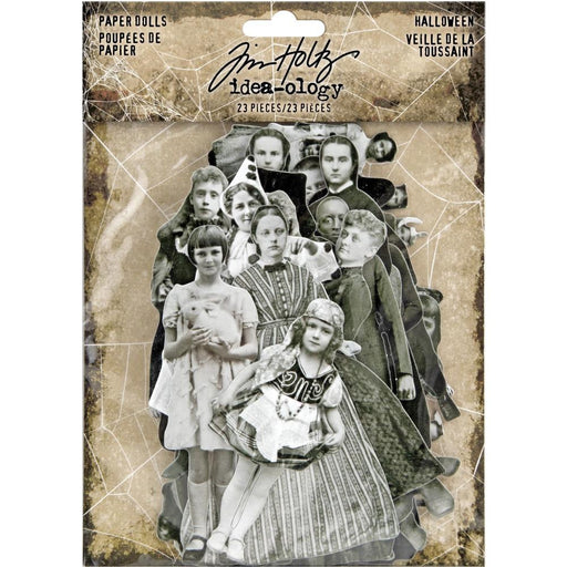 TIM HOLTZ IDEAOLOGY   HALLOWEEN PAPER DOLLS ANCESTORS