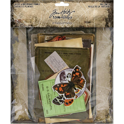 TIM HOLTZ IDEAOLOGY HALLOWEEN LAYERS AND BASEBOARDS FRAMES
