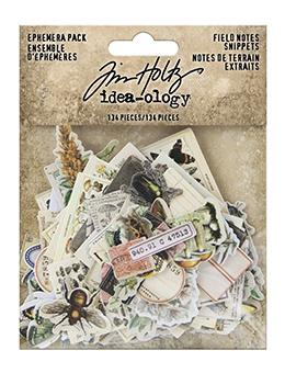 TIM HOLTZ IDEAOLOGY  EPHEMERA SNIPPETS FIELD NOTES