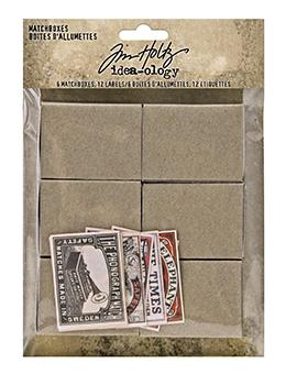 TIM HOLTZ IDEAOLOGY  MATCH BOXES