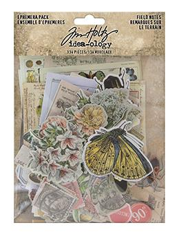 TIM HOLTZ IDEAOLOGY   EPHEMERA PACK FIELD NOTES