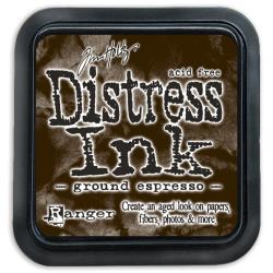 TIM HOLTZ DISTRESS INK PAD GROUND ESPRESSO