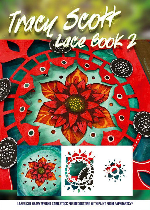 PAPER ARTSY TRACY SCOTT LACE BOOKLET 2