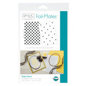 THERM O WEB GINA K DESIGN FOIL MATES POLKA PARTY