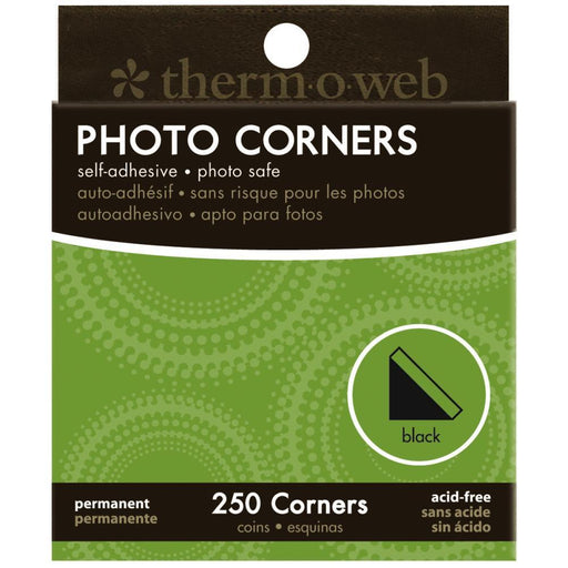 THERM O WEB PHOTO CORNERS BLACK