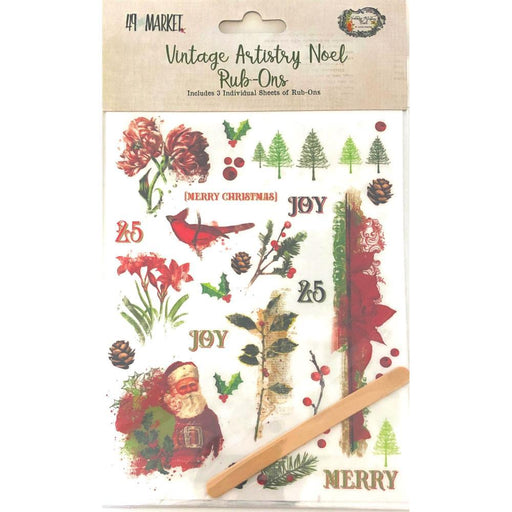 49 AND MARKET VINTAGE ARTISTRY NOEL RUB ON