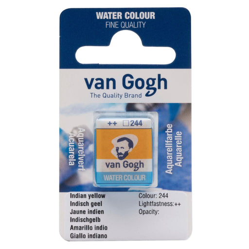 VAN GOGH WATER COLOUR PAN  INDIAN YELLOW