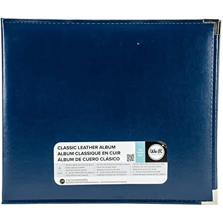 WRMK CLASSIC LEATHER RING ALBUM 12X12 COBALT