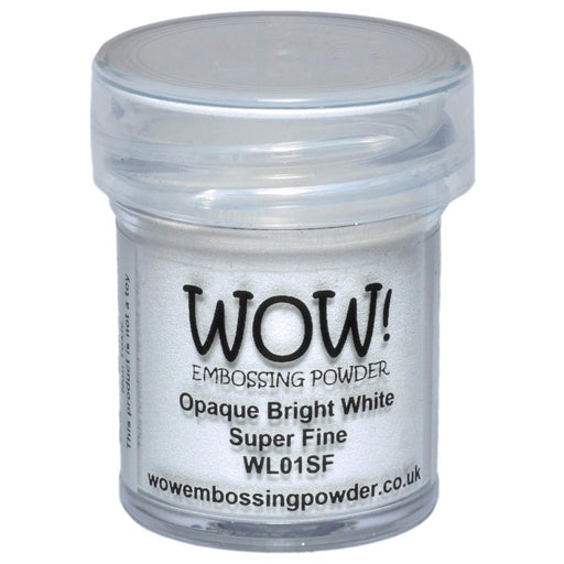 WOW EMBOSSING POWDER OPAQUE BRIGHT WHITE SF