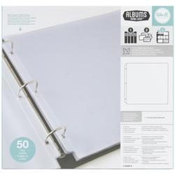 WER 12X12 SCRAPBOOK REFILLS FULL PAGE