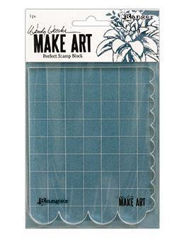 RANGER WENDY VECCHI MAKEART  PERFECT STAMP BLOCK
