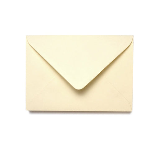 SOFT CREAM SQUARE ENVELOPES 130MMX130MM PKT 25