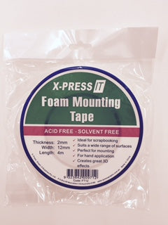 X-PRESS FOAM MOUNTING TAPE