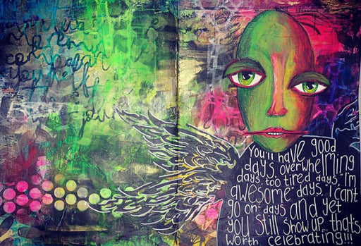Art Journaling – Hidden Secrets by Niamh Baly