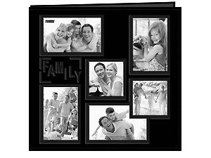 PIONEER 12X12 SCRAPBOOK ALBUM FAMILY BLACK COLLAGE