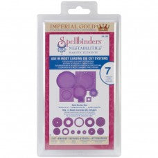 SPELLBINDERS NESTABILITIES GOLD CIRCLES ONE