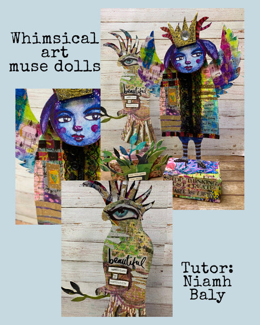 Whimsical Art Muse Dolls with Niamh Baly