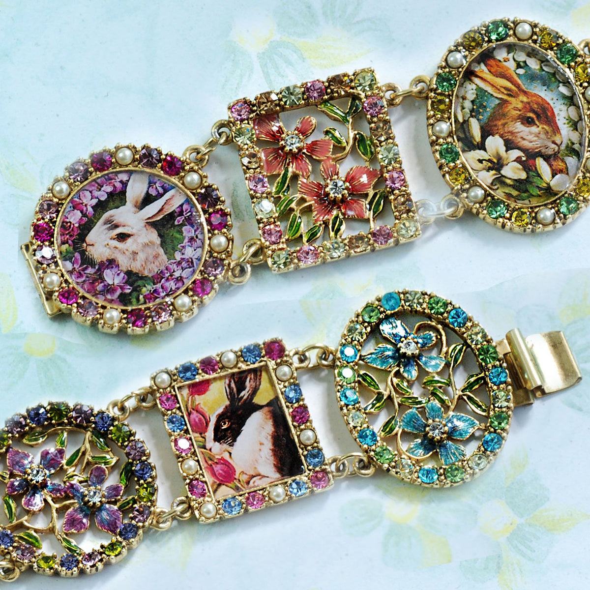 Garden of Bunnies Bracelet BR536 - Sweet Romance Wholesale