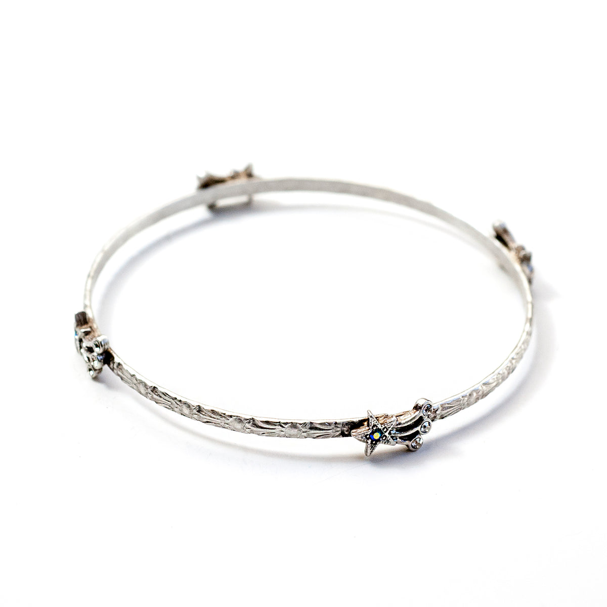 Star Bangle Bracelet BR545 - Sweet Romance Wholesale