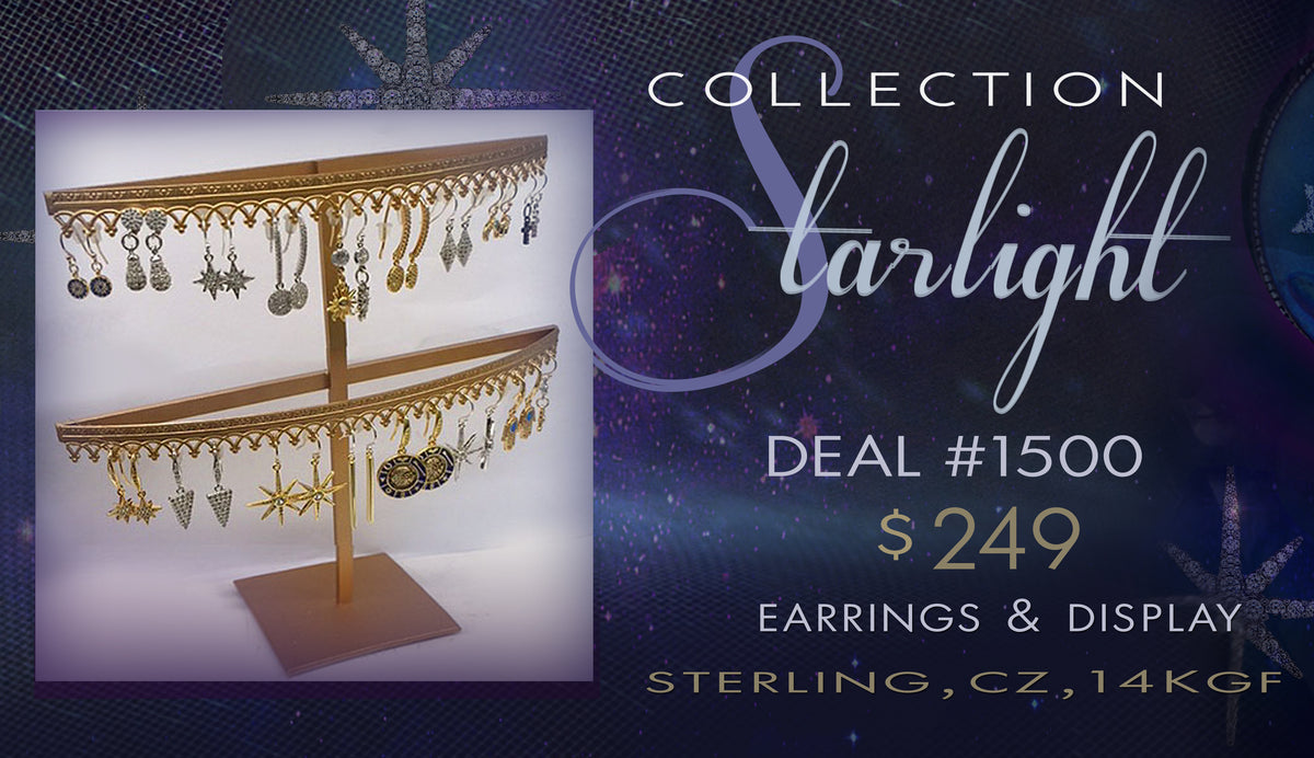 Starlight Earring Collection DEAL1500 - Sweet Romance Wholesale