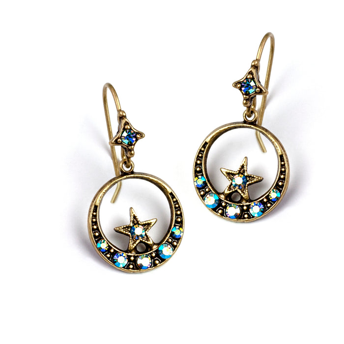 Nesting Star Earrings E1498 - Sweet Romance Wholesale