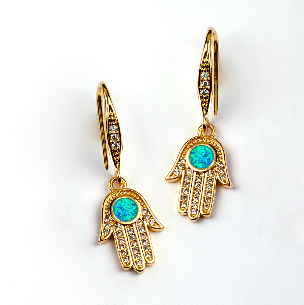 Hamsa Earrings E1502 - Sweet Romance Wholesale