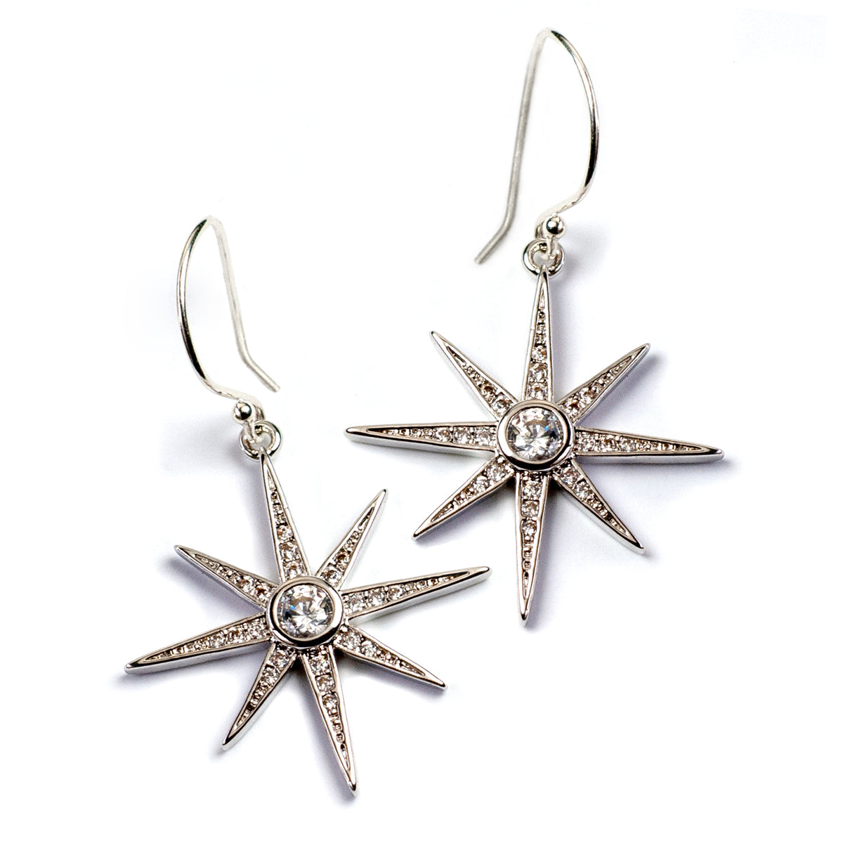 North Star Earrings E1506 - Sweet Romance Wholesale