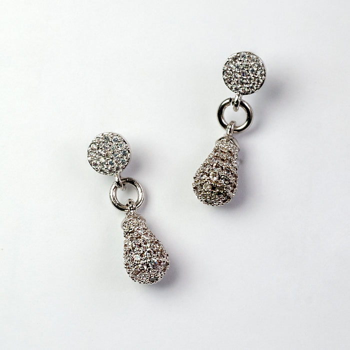 Rain Drops Earrings E1508 - Sweet Romance Wholesale