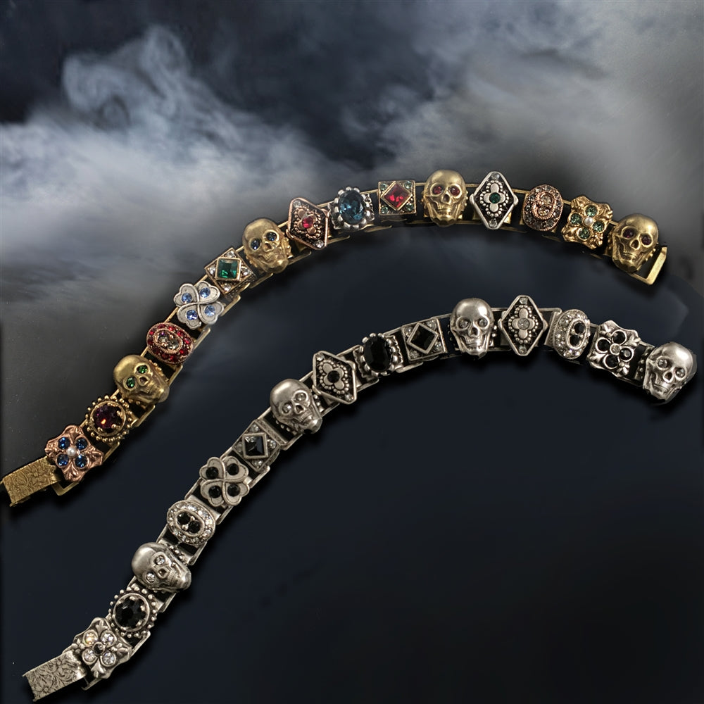Elvira's Gothic Jewel Bracelet - Sweet Romance Wholesale