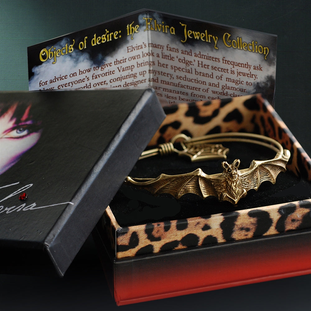 Elvira's Vampire Bat Bracelet - Sweet Romance Wholesale