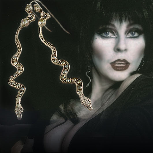 Elvira's Serpent Earrings EL_E109