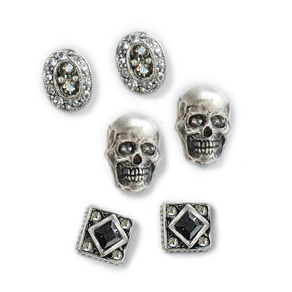 Elvira's Gothic Earring Trio - Sweet Romance Wholesale