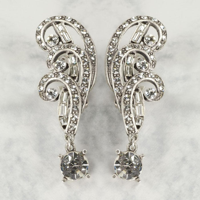 Elvira's Spellbound Clip Earrings EL_E115 - Sweet Romance Wholesale