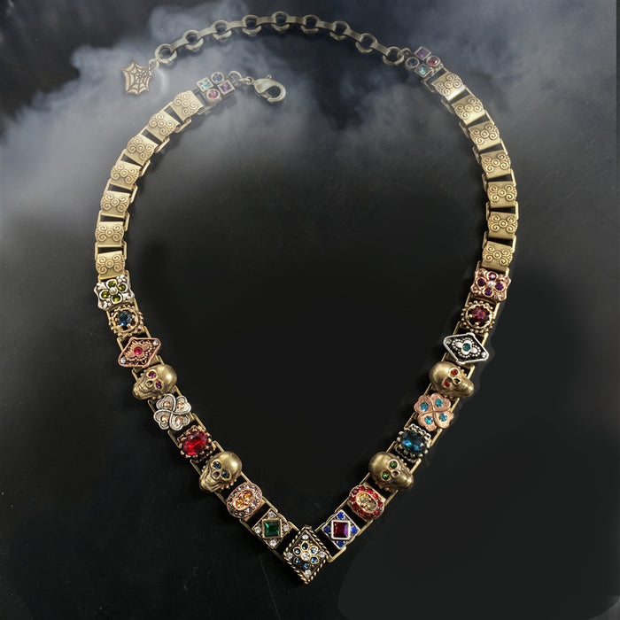 Elvira's Gothic Jewel Collar Necklace - Sweet Romance Wholesale