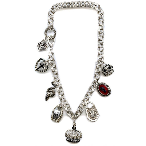 Elvira's Loteria Charm Necklace EL_N697 - Sweet Romance Wholesale