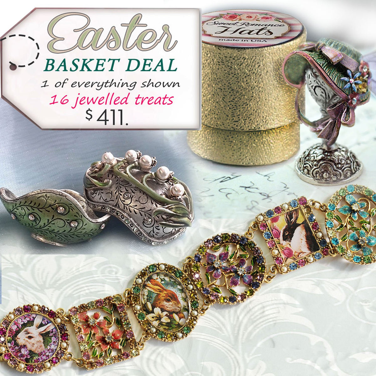 Easter Basket Deal - Sweet Romance Wholesale