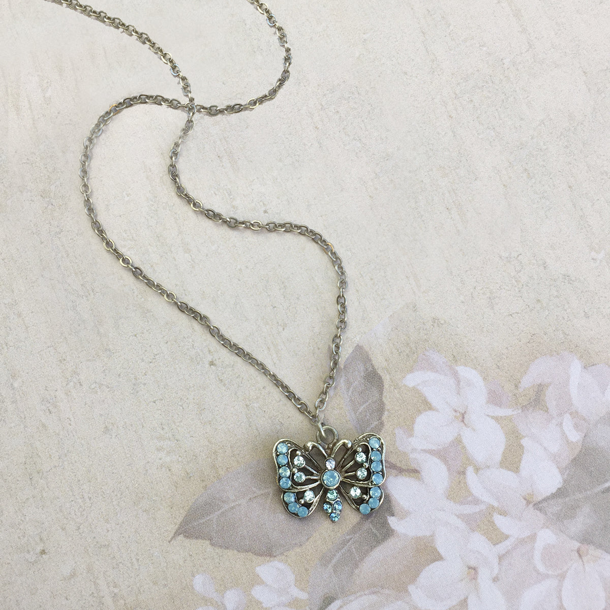 Butterfly Necklace N1589 - Sweet Romance Wholesale